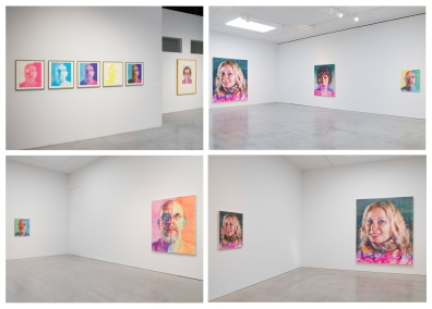 Installation photos from Chuck Close: Red Yellow Blue, Pace Gallery, 534 West 25th Street, New York, September 11-October 17, 2015. © Chuck Close. Photos by Kerry Ryan McFate, courtesy Pace Gallery