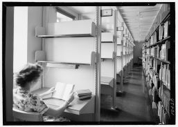 Connecticut College for Women, New London, Connecticut. Palmer library, carrels in stack room. Photo by Gottscho-Schleisner, Inc., courtesy ibrary of Congress Prints and Photographs Division Washington. Retrieved from the Library of Congress, https://www.loc.gov/item/gsc1994021290/PP/. (Accessed June 06, 2017.).