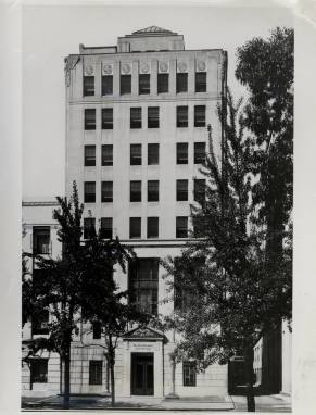Brookings building at 722 Jackson Place in 1932. Photo courtesy Brookings Institution.